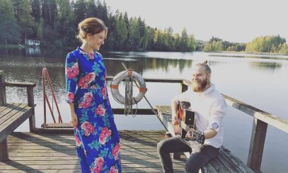 Tina Salminen ja Viljami Viktors kesä 2016